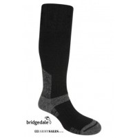 Bridgedale Essential Kit SUMMIT KNEE BLACK Military Spec Tactical Hiking Socks