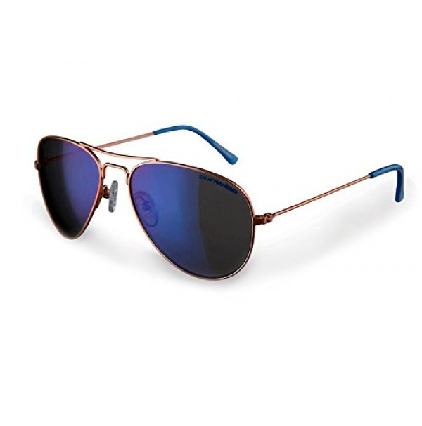 Sunwise Lancaster Orange Aviator Sunglasses