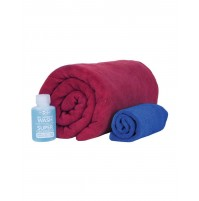 Sea to Summit Microfibre Tek Towel Wash Kit - Towel, Face Cloth & Wash