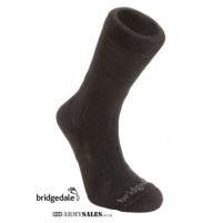Bridgedale Essential Kit Trailblaze Long Socks, Military Spec BLACK
