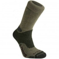 Bridgedale Essential Kit Trekker Socks, Military Spec, OLIVE GREEN