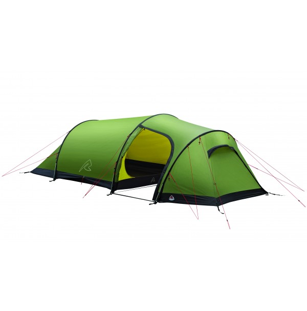 Robens VOYAGER 3EX Lightweight 3 Person Tunnel Tent with Porch