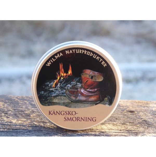 Wilmas Kängskosmorning Bear Cream Leather Conditioner and Waterproofer 60g Tin