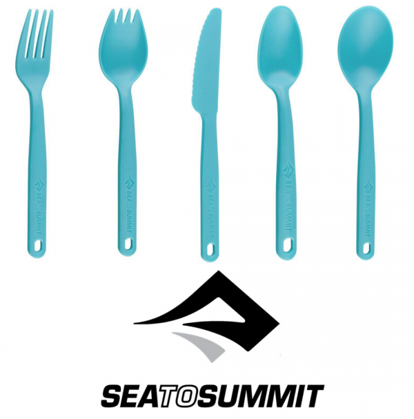 SEA TO SUMMIT CAMP CUTLERY PACIFIC BLUE
