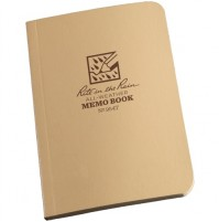 "Rite in the Rain Tactical Desert Tan Field Flex Memo Notebook / Notepad No 954T 3.5"" x 5"""