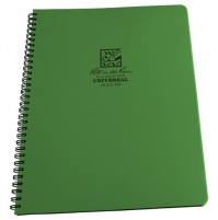 "Rite in the Rain All-Weather Maxi Notepad / Notebook No 973-MX in OLIVE GREEN (8.5 x 11"")LARGE"