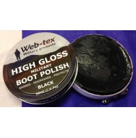 Web-tex Military High Gloss Parade Boot Polish