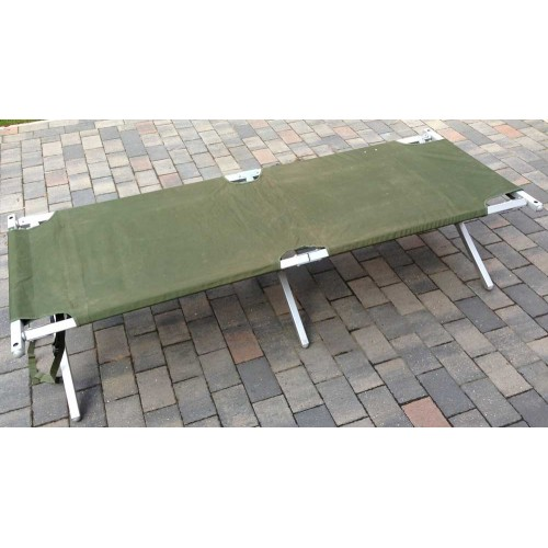 Latest Issue Heavy Duty Aluminium Frame Folding Camp Bed