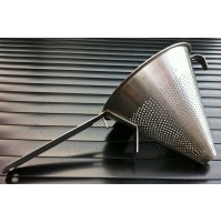 Commercial Stainless Steel Conical Sieve  18cm wide x 16cm tall