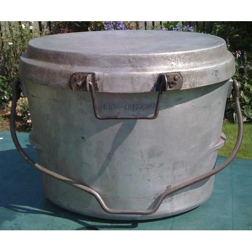 Dixie 3 Gallon Aluminium Oval Cooking Pot  Grade A