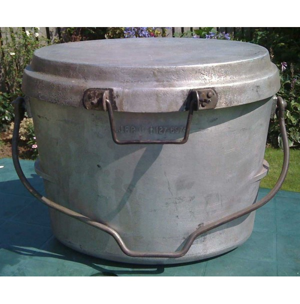 Dixie 3 Gallon Aluminium Oval Cooking Pot  Grade A
