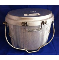 Dixie 3 Gallon Aluminium Oval Cooking Pot   NEW