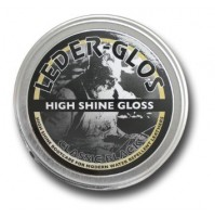 Leder Glos High Shine Gloss BLACK 40g Tin - Boot Polish