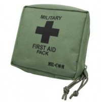 MIL-COM Small Emergency First Aid Kit
