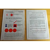 MOD Army Form W 9821 Protective Emblems