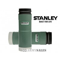 Stanley Classic GREEN Open One Handed 6 Hrs Hot Leak Proof Mug Drinks Flask 16oz 473ml