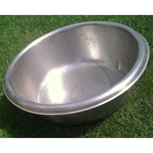 36cm Field Kitchen Stainless Steel Mixing / Washing up Bowl