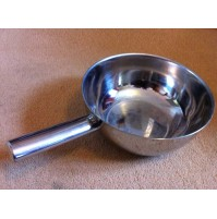 Heavy Duty 3 Litre Stainless Steel Flat Base Wok