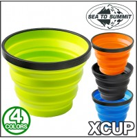 Sea to Summit X Cup - 250ml / 8.3floz - Folds Flat and Lightweight