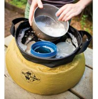 10L Kitchen Sink by Sea to Summit, Portable, Light, Folding Camping Washing Bowl