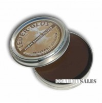 Leder Glos High Shine Gloss BROWN 40g Tin - Boot Polish